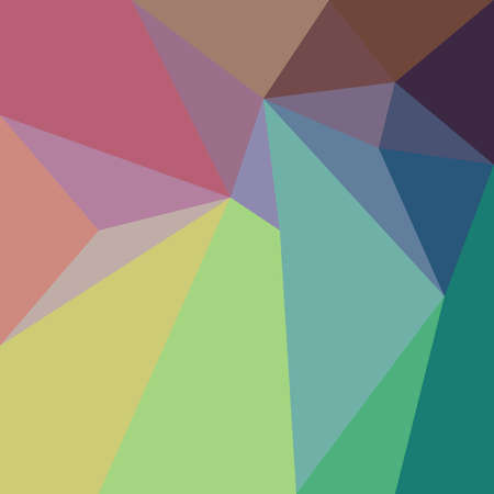 Abstract low poly design with minimal triangles and polygonal shapes in pastel colors that pop, fun geometric background design 3d illustration Фото со стока