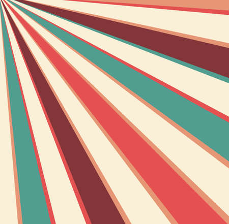 abstract retro sunburst design in groovy background design 스톡 콘텐츠 - 105204658