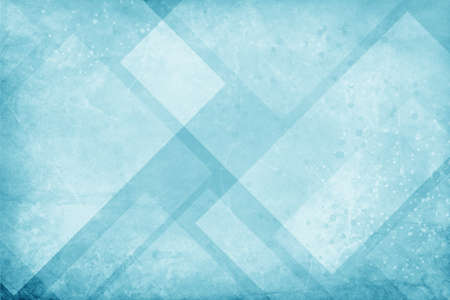 blue and white background with textured geometric triangle and diamond pattern with faint paint splashes spatter and drips and grunge