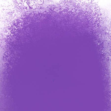 purple background with white border with grunge texture design Standard-Bild - 114142355