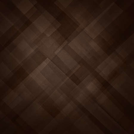 abstract brown background with triangles and rectangle shapes layered in contemporary modern art background design, warm coffee shades of color Standard-Bild - 115498672