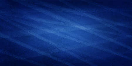 classy blue background with white random lines or stripes with texture and black vignette border Standard-Bild - 116800995