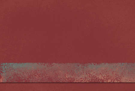 dark red background with blank ribbon or stripe in old vintage metal texture design Standard-Bild - 115498714