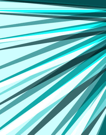 Layers of sharp triangle rays and stripes lines of blue black and white in an abstract background design, sunburst or starburst effect Standard-Bild - 116801058