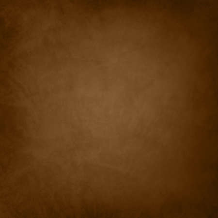 old brown background in rich elegant colors with dark vignette edge, brown coffee color background with black grunge border, vintage old leather texture illustration design Standard-Bild - 116801063