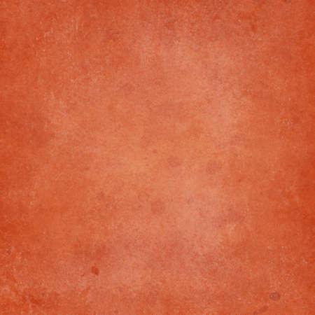 old orange background design with vintage grunge texture and paint stain and spatter drops in elegant but distressed paper illustration design Standard-Bild - 116801131