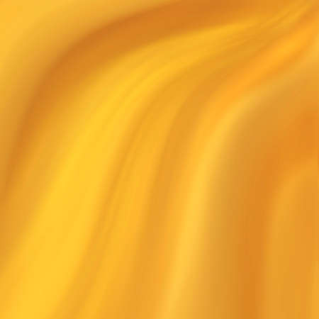 elegant luxury yellow gold background with wavy draped folds of cloth, smooth silk texture with wrinkles and creases in flowing fabric Standard-Bild - 116892920
