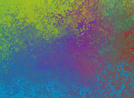 abstract background design in colorful blue purple green and red colors, dramatic bold color splash illustration
