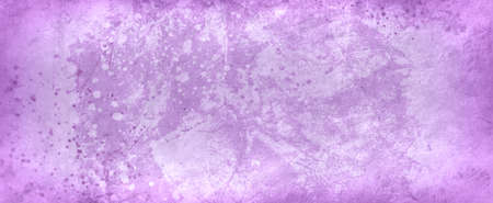 old violet purple background illustration with faded grunge texture and paint spatter or spray in dark purple colors Stock Illustration - 122241381