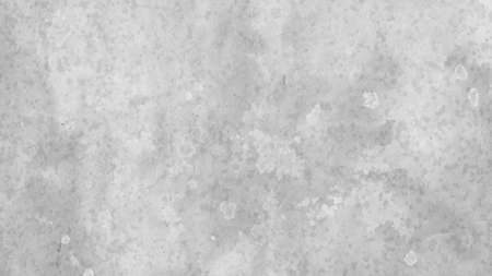 Artsy background design in white and gray with blotchy watercolor wash and fringe bleed design from paint spatter drips and drops. Abstract background with grunge texture. Stock Photo