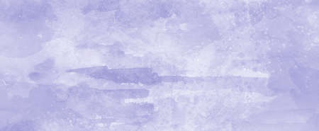 Purple paint background with soft watercolor wash and grainy paper texture in pastel light color background design, distressed paint spatter and grunge with fringe bleed