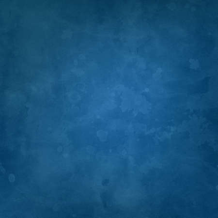 Solid blue background with faint vintage grunge texture, old paper illustration design for graphic art layouts or templates