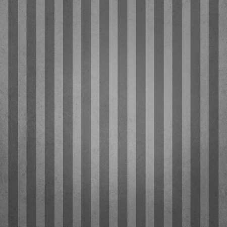 Elegant black and white striped background. Light and dark gray pin stripes in vertical lines in an old vintage textured design that is elegant. Background has a faint vignette border.