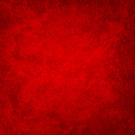 Rich red background with mottled marbled vintage texture and grunge in elegant luxury red or Christmas background design