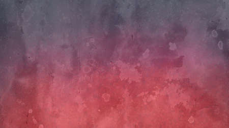 Artsy background design in pink and purple with white blotchy watercolor wash and fringe bleed design from paint spatter drips and drops. Abstract background with grunge texture.