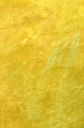 Gold background texture, elegant yellow vintage paper illustration with grunge scratches and wrinkled creases in luxury antique design Stock fotó