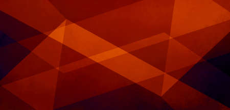 abstract black and red background with triangle shapes and striped lines in light red orange colors in reflecting or refraction style pattern concept