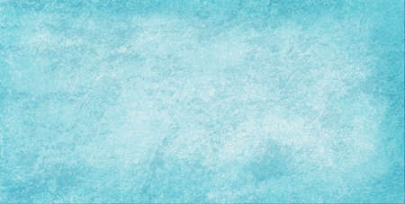 Faded white grunge texture on light blue background in old distressed stone or rock grungy design