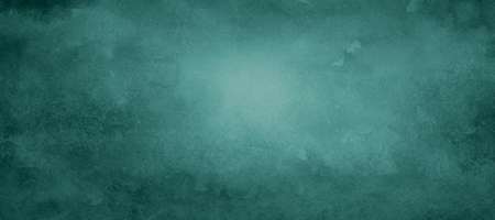 old teal blue green vintage background with distressed grunge texture and soft color design, elegant website wall or paper illustration