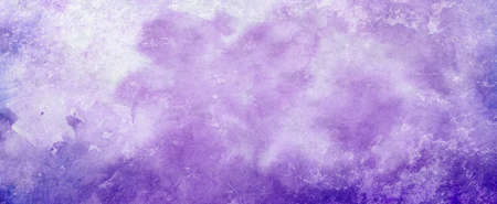 purple watercolor paint splash or blotch background with fringe bleed wash and bloom design, blobs of paint and old vintage watercolor paper texture grain