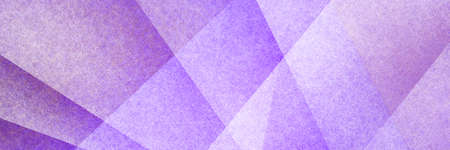 Abstract modern background in purple colors and contemporary triangle square and block shapes layered in random geometric art pattern with fine texture
