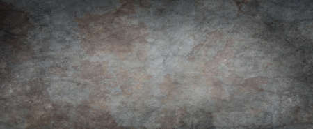 Black background with grunge texture and rough cracked and stained surface, old elegant gray background illustration