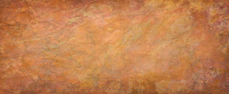 Red brown and orange background texture, abstract autumn color paper with old vintage grunge textured design