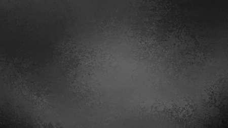 black background with distressed gray center and dark border, old elegant vintage grunge texture design