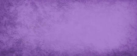 Lavender purple background with blank center and old weathered border grunge, marbled purple rust or rock texture in elegant vintage background design