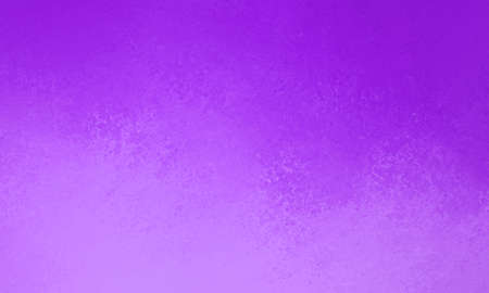 Purple background with gradient colors of pastel lavender and dark violet with grunge textured border, bright pretty abstract cloudy color splash background texture for spring website or paper design Stock Photo