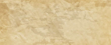 Old brown paper parchment background design with distressed vintage stains and wrinkled crumpled texture and grunge, elegant antique beige color 免版税图像