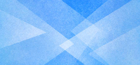 Abstract geometric background in blue and white with texture, layers of triangle shapes in modern art style background design 免版税图像