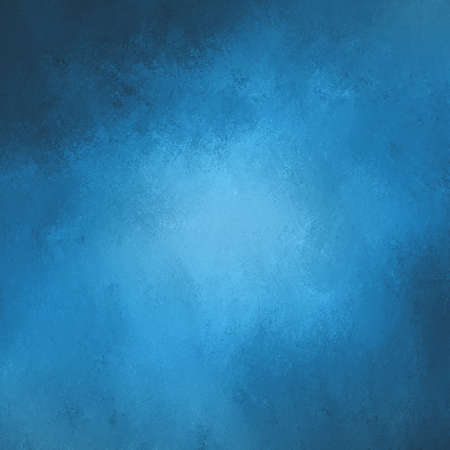 cloudy stormy blue color background design with gray corner texture, elegant blue background