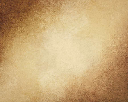 rustic brown grunge background with darker brown grungy border and vintage texture design 免版税图像