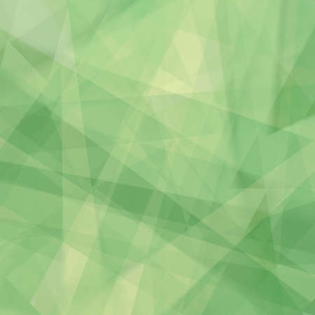 abstract green background with white lines and stripes in random pattern, triangle shapes and diagonal stripes, yellow and green spring colors 免版税图像