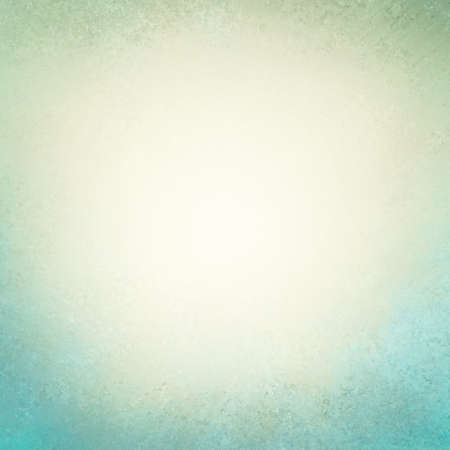 cloudy blue background with white puffy center. distressed old texture paper, faint rustic blue grunge border paint design