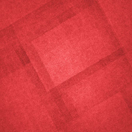 layers of red textured rectangles and squares in abstract red background design, modern contemporary art design. Rich red color geometric angles and shapes background.