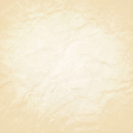 old paper background white beige coloring and vintage distressed texture, aged wrinkled or crinkled paper texture 免版税图像