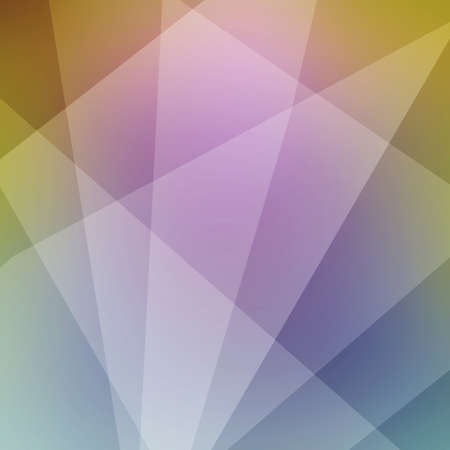 abstract triangle and polygon shapes layered in abstract background pattern, white purple and yellow colors, intersecting lines and shapes