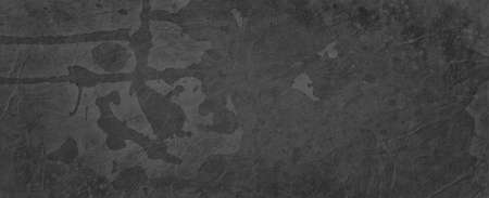 Grungy old black and gray background with layered vintage grunge rock or marbled stone on peeling paint with drips drops and spatter over painted rust metal textures for elegant ancient effect 免版税图像