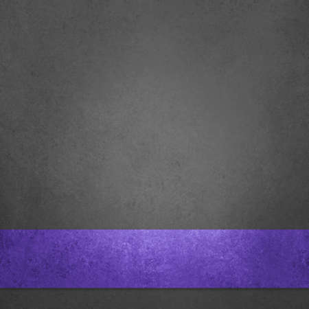 black background with old vintage texture and purple ribbon layer in elegant  layout design 免版税图像