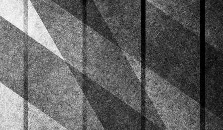 abstract black white and gray background design with layers of thick and thin stripes in diagonal and vertical angles, geometric background with gradient monochrome colors