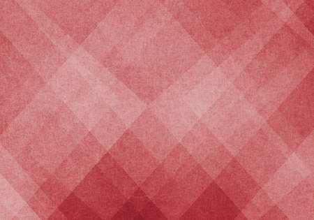 Abstract red background Christmas image. plaid or triangle geometric pattern design. Textured red paper. Diagonal block pattern. Diamond shapes and line design elements. Luxury background for web.