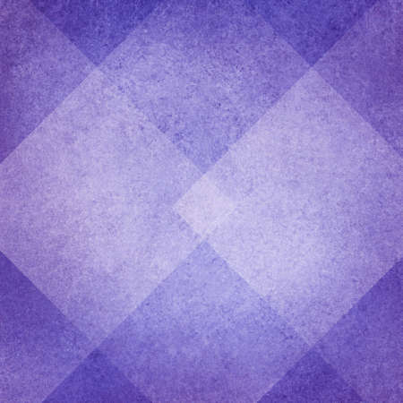 abstract purple background, white diamond abstract design, vintage texture Stock Photo