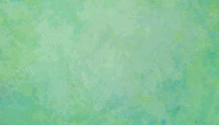 Blue green background with old paper grunge texture and wrinkled painted pattern, light pastel colors of blue and green