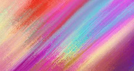 Abstract background, colorful striped design in gold blue red purple pink and yellow layout with texture, vibrant stripes and colors with motion blur effect 免版税图像