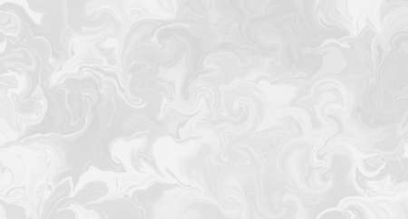 Abstract white background with marbled texture pattern in elegant fancy design, wavy swirls and curled marbled pattern background in detailed painted white and gray stone background layout 免版税图像