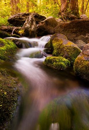Cascades on South River, Shenandoah National Park, Virginia. photo