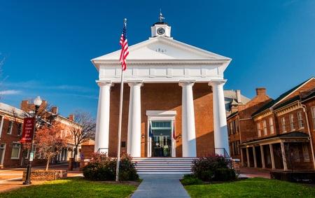winchester: Il palazzo di giustizia di Winchester, in Virginia.