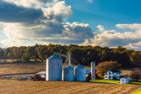 Farm in rural York County, Pennsylvania. photo